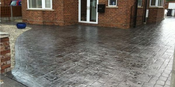imprinted concrete driveways in bournemouth