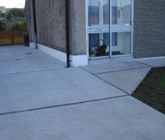 more landscaping in bournemouth - image shows garden patio we installed